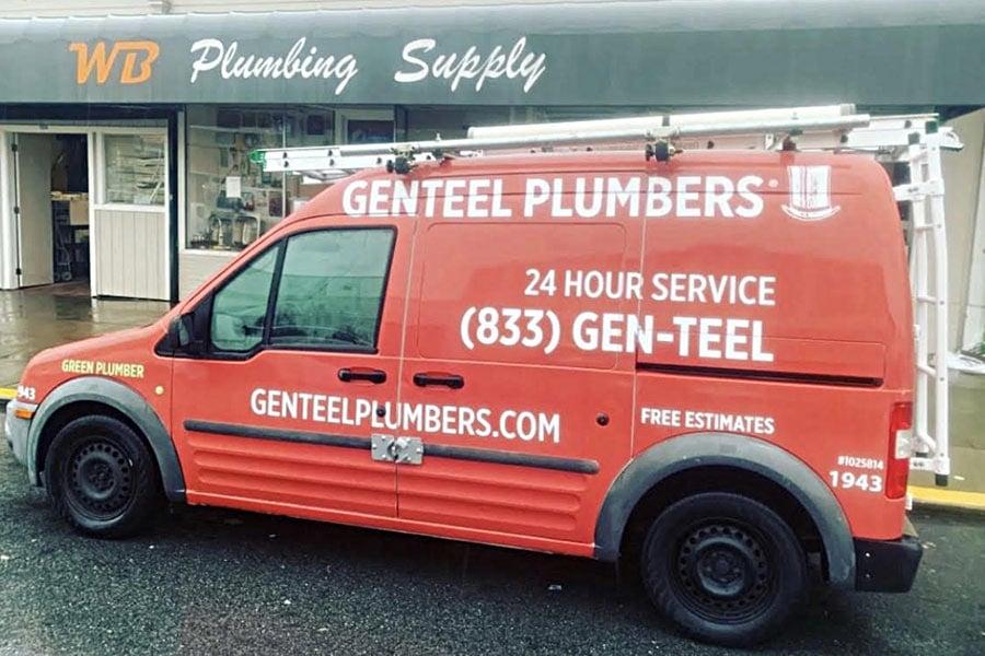 GENTEEL PLUMBERS Van 1